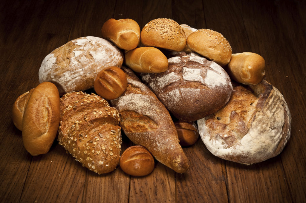 Lovely baked breads