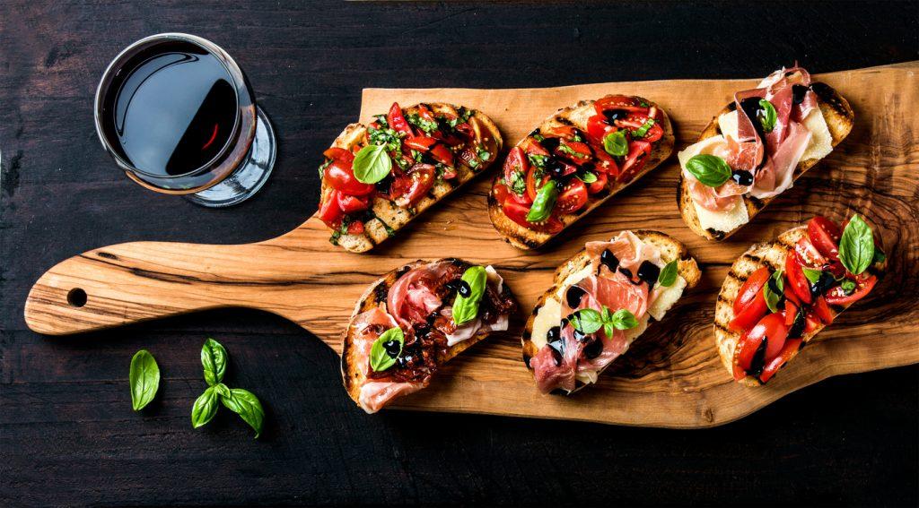 Lovely slices of brushetta bread