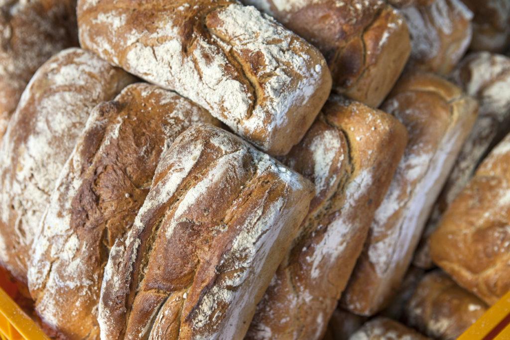 Gorgeous Polish bread, freshly baked